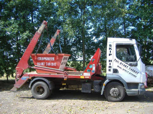 We don't just cater for large builders skips, here's a 2 yard skip ready for delivery