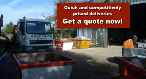 Quick and competitively priced deliveries - Get a quote now!