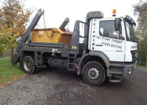 18 ton skip lorry